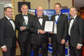 CECA Project of the Year 2014 - Trunk Mains Cleaning Contract, Highly Commended